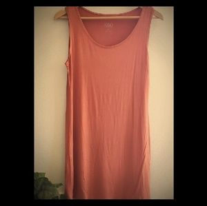 Cute tunic  top/dress   by LOGO size large